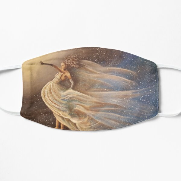 A Bride of Earth and Stars Flat Mask