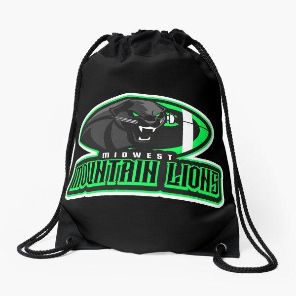 Midwest Mountain Lions Drawstring Bag