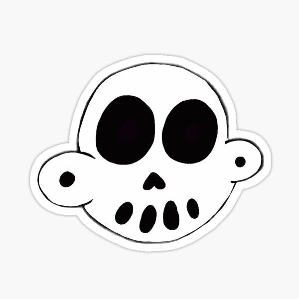 Zanoskull - Skull Sticker