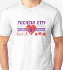 Fuchsia City Gym  Unisex T-Shirt