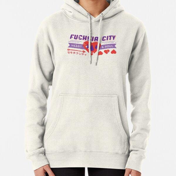 Fuchsia City Gym  Pullover Hoodie