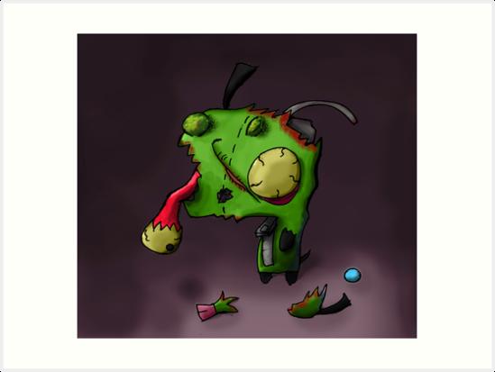 zombie gir by kidkb09