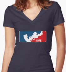 NYFE Racing Women's Fitted V-Neck T-Shirt
