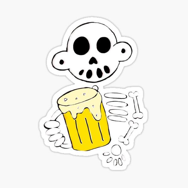 Zanoskull - Beer me Sticker