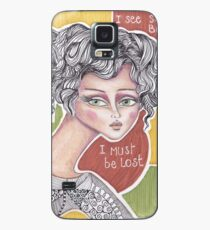 denthe girl I must be lost case Case/Skin for Samsung Galaxy