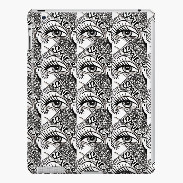 denthe doodle pattern ipadcase iPad Snap Case