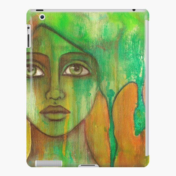 denthe painting green ipadcover iPad Snap Case