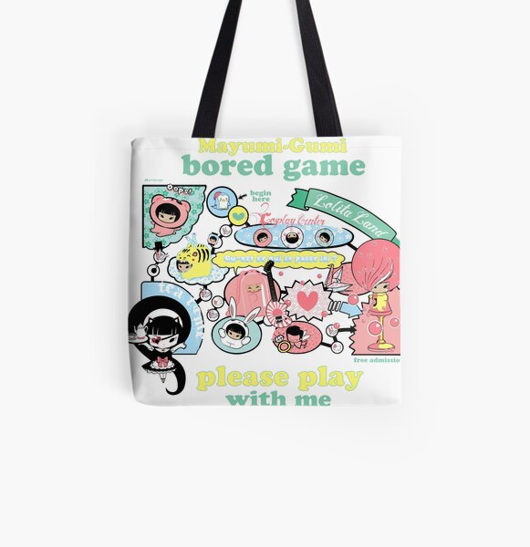 Bored Game All Over Print Tote Bag