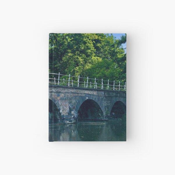 Bridge in Bruges, Belgium Hardcover Journal