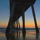 Summer's End In Hermosa Beach by Steve Belovarich