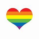 Rainbow Heart by Emma Davis