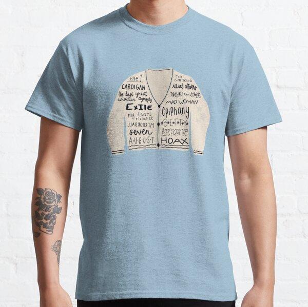 folklore cardigan  Classic T-Shirt