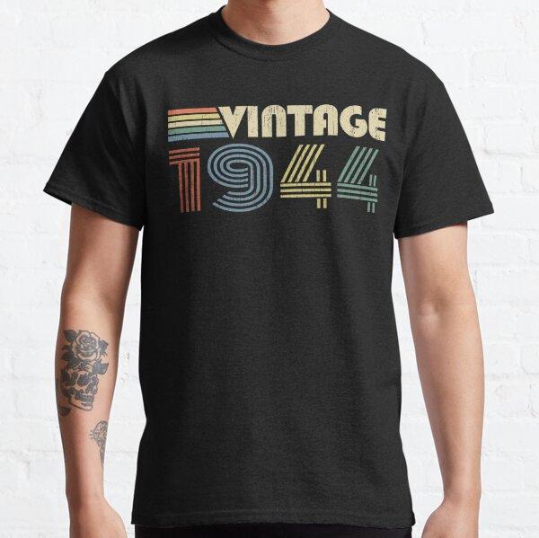 76th Birthday Gifts Presents Year 1944 Mens Ringer Vintage T-Shirt All Original