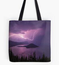 Crater Storm Tote Bag
