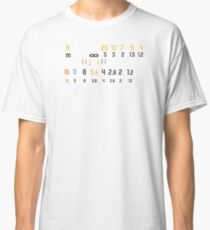 Manual Lens Photographer white Classic T-Shirt