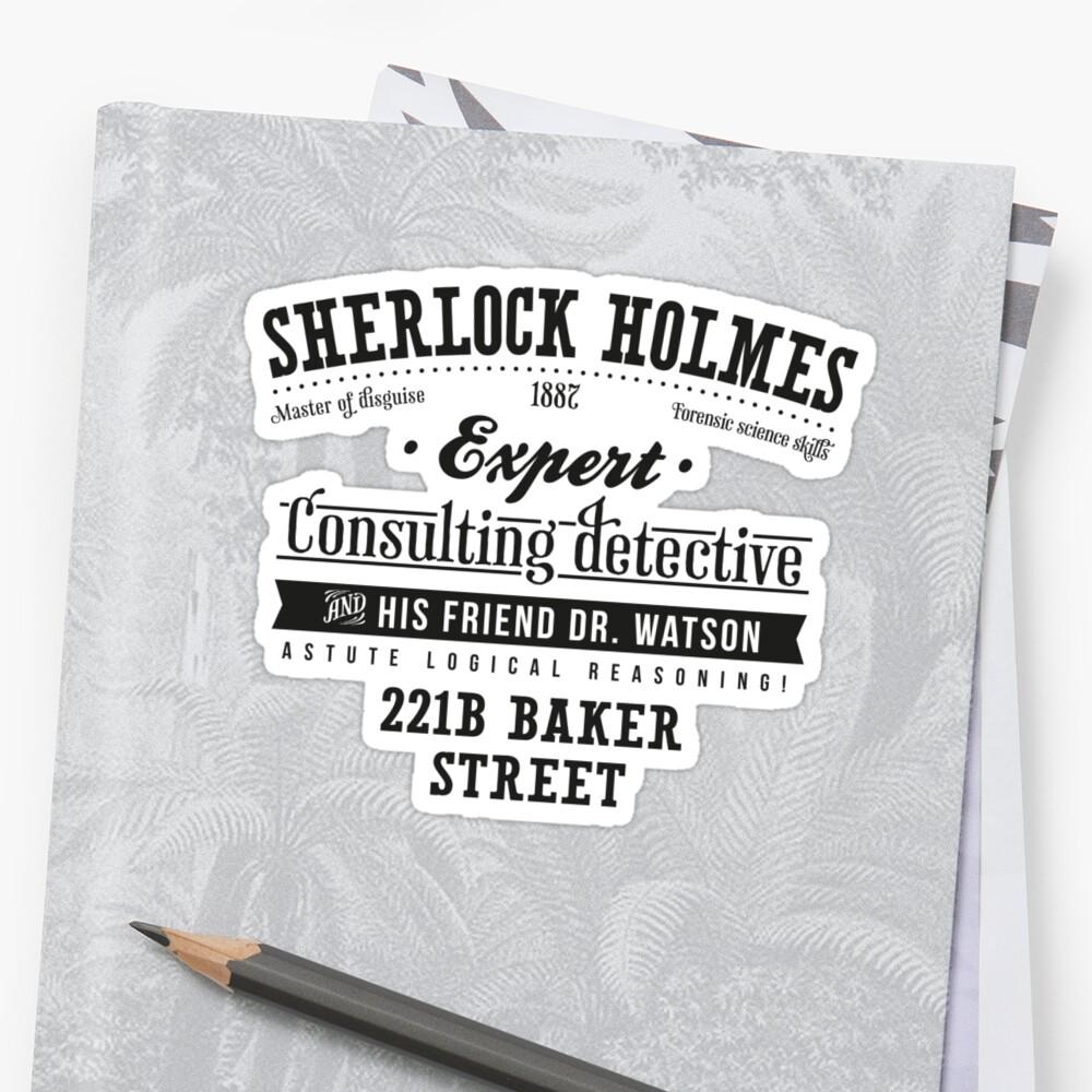 Sherlock Holmes Ad -Dark- by Azafran