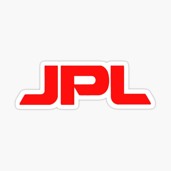 JPL Logo Sticker