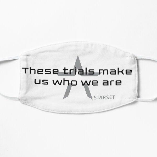 Wer wir sind Flache Maske