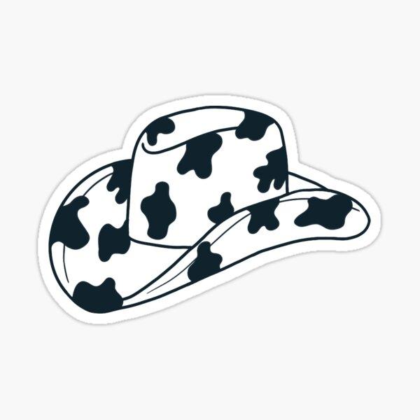 Cowgirl Hat Sticker