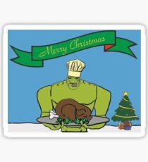 Killer Croc is Making Christmas Dinner Sticker