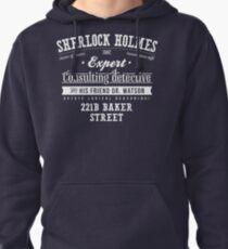 Sherlock Holmes Ad -Light- Pullover Hoodie