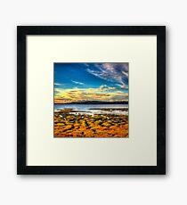 Swan Bay Sunset II Framed Print