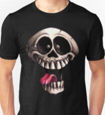 Crazy Skull Unisex T-Shirt