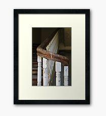 Inside the abandoned asylum. Framed Print
