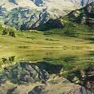 Tranquil Reflection by John Dunbar
