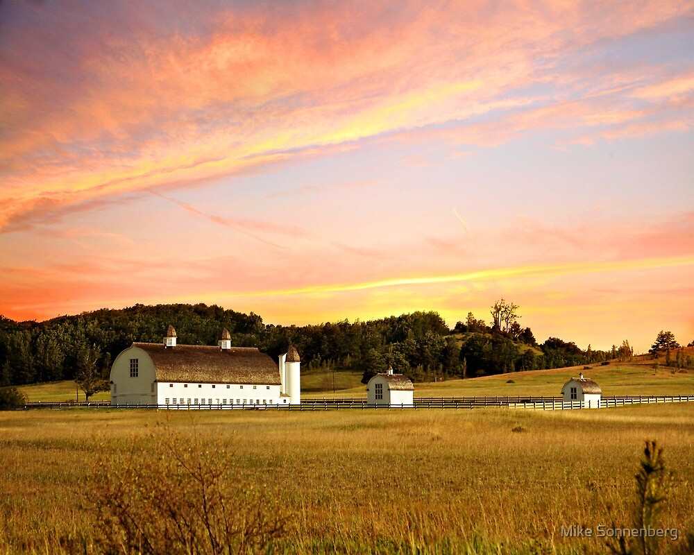 D H Day Barn by Mike Sonnenberg