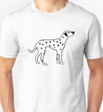 Dalmation Dog Unisex T-Shirt