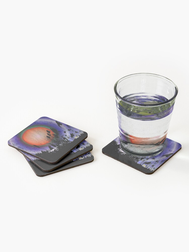 Alternate view of Distant Sun Coasters (Set of 4)
