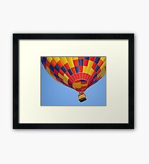 Hello Up There! Framed Print