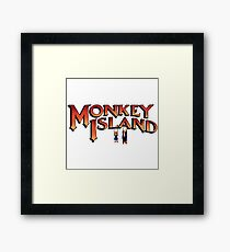 Monkey Island in Chains Framed Print