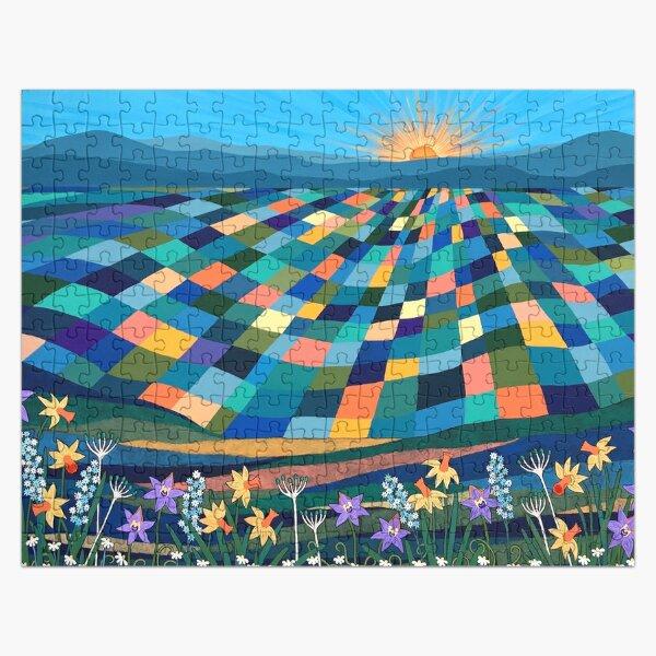 Bright Sun Shiny Day Jigsaw Puzzle
