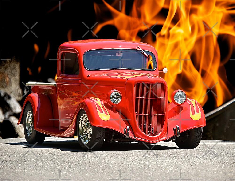 1935 Ford Pick-Up Truck II by DaveKoontz