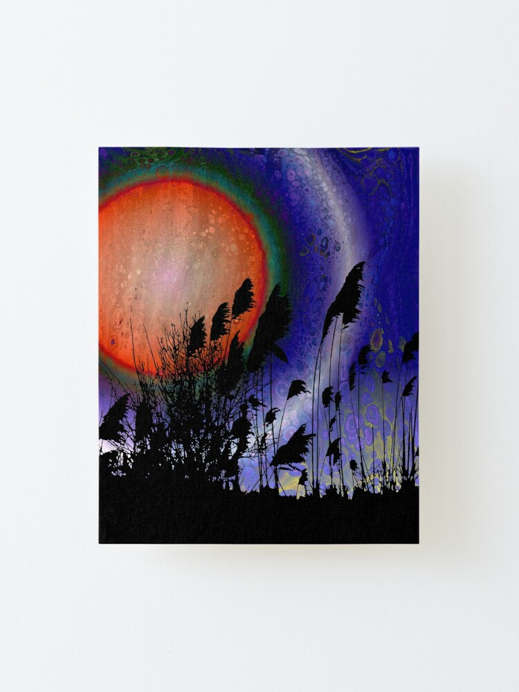 Alternate view of Distant Sun Mounted Print