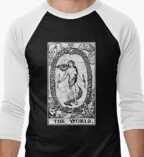 The World Tarot Card - Major Arcana - fortune telling - occult T-Shirt