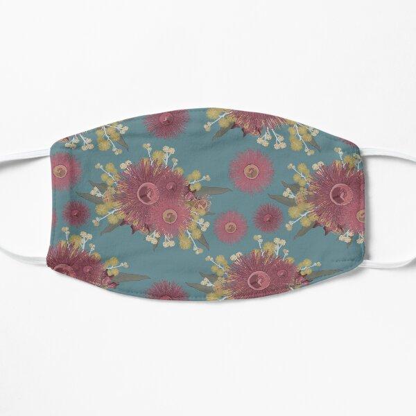 Vintage Australian Wildflower Pattern Mask