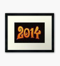 New Year Framed Print