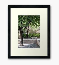 Saint-Laurent-des-Arbres Framed Print