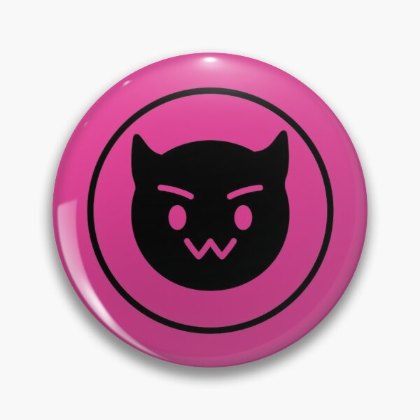 Towa Hololive Vtuber - Pink Devil Button Badge for Cosplay Pin