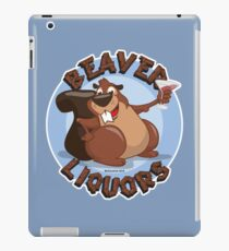 Beaver Liquors iPad Case/Skin
