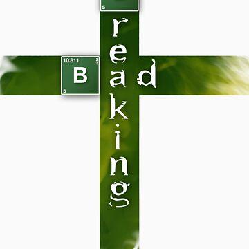 Breaking bad cross by Puranik