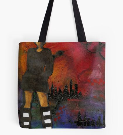 Urban Girl Wanna Be Tote Bag
