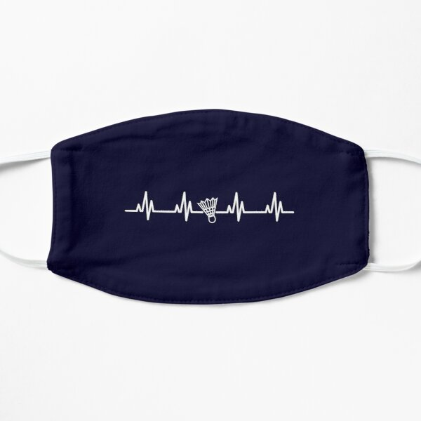 Badminton Heartbeat Mask