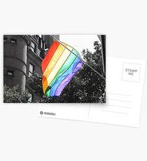 Rainbow Flag Postcards