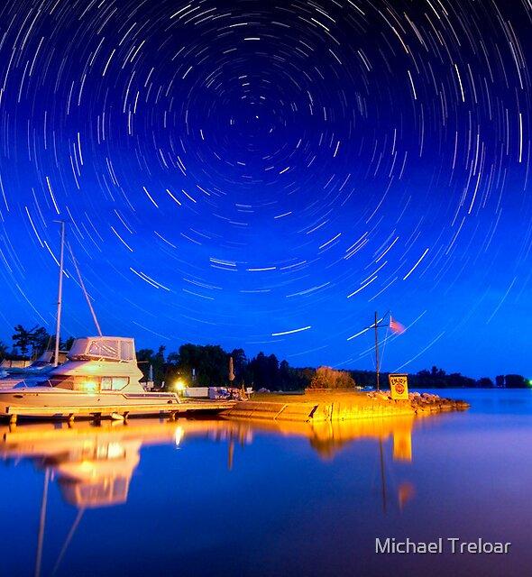 Two hours Before Dawn - Leech Lake, MN  by Michael Treloar