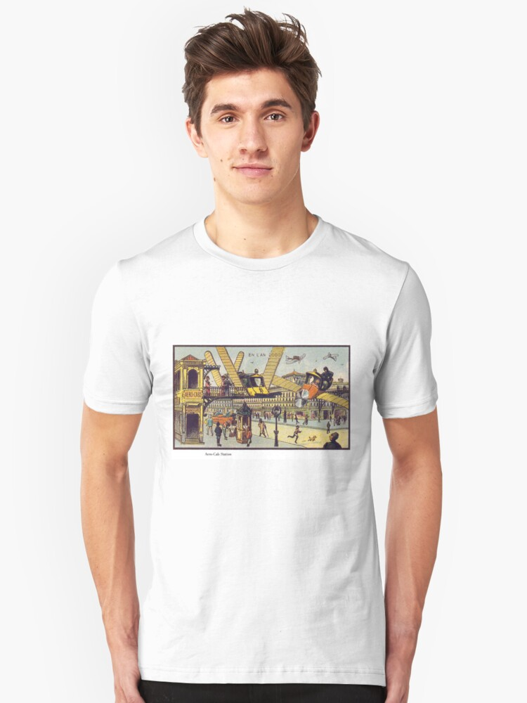 Early 20th Century images of France in 2000 - Air Cab Unisex T-Shirt Front