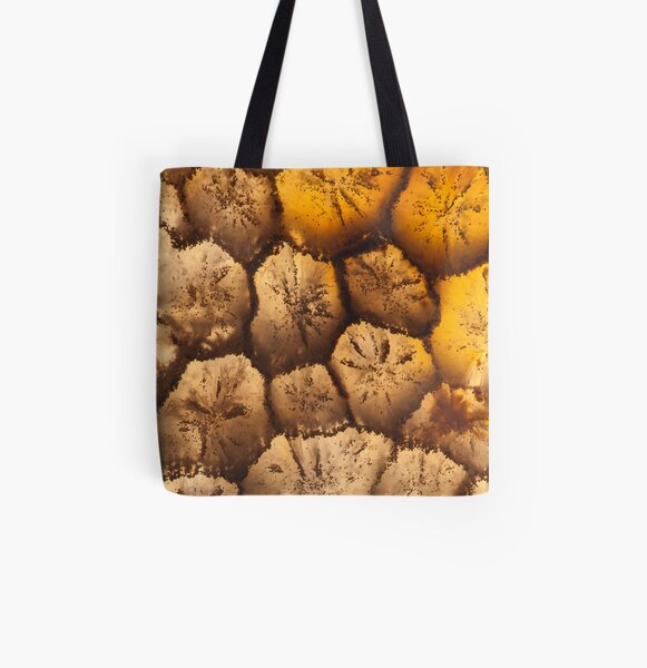 Petrified Coral 15 All Over Print Tote Bag